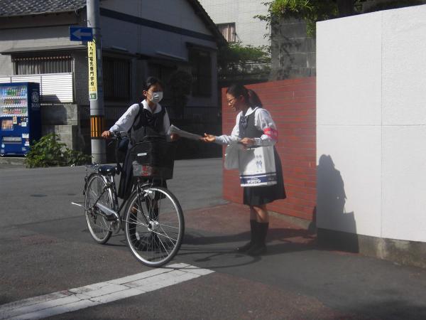 自転車盗難被害防止