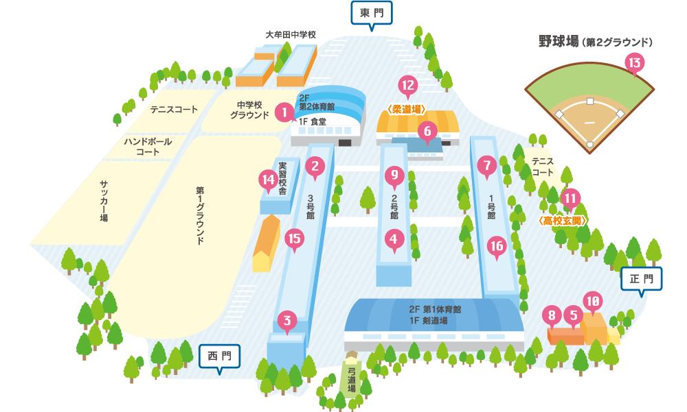 施設紹介 マップ