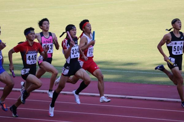 陸上競技部 全九州新人陸上競技大会